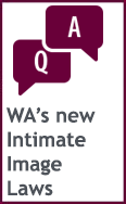 Western Australia's new Intimate Images Laws