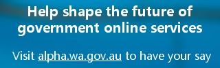 Help shape the future of WA Online services
